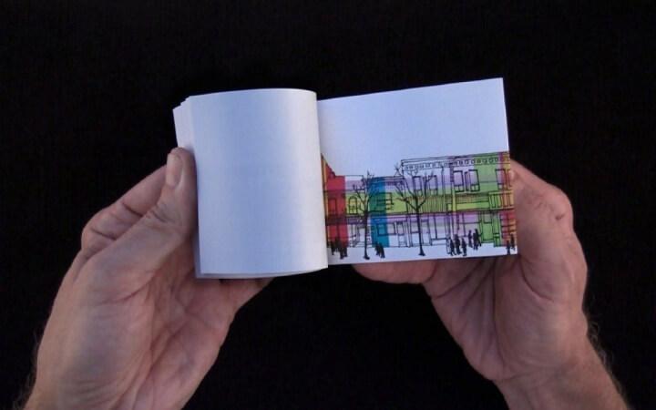 Flip Book Animation Style 5
