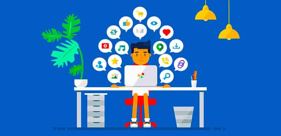 Social Media Marketing Animation